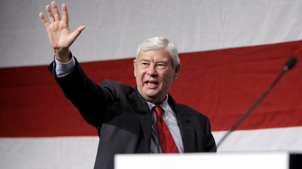 """Former Florida Senator Bob Graham, shown here in 2011, co-chaired the congressional inquiry into possible Saudi government links to the Sept. 11 hijackers. He long advocated releasing the 2002 report, known as the """"28 pages,"""" which were made public on Friday."""