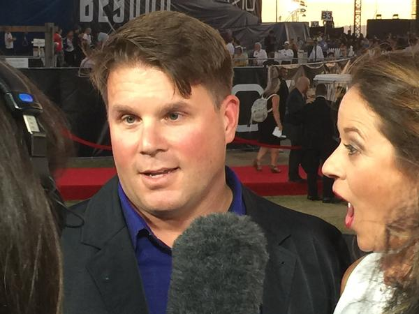 "Rod Roddenberry, son of <em>Star Trek</em> creator Gene, and executive producer of the upcoming Trek TV series: ""Oh geez, I should know this, I should know this."""
