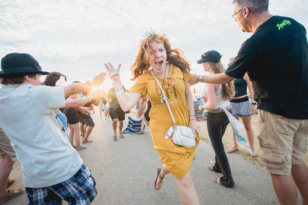 Festivalgoers celebrate another great year at Newport Folk.