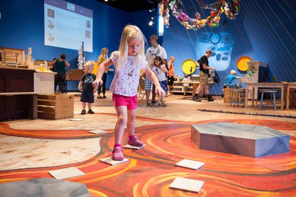 "Creativity Jam at the <a href=""http://www.mcm.org/"">Minnesota Children's Museum</a> in St. Paul, Minn."