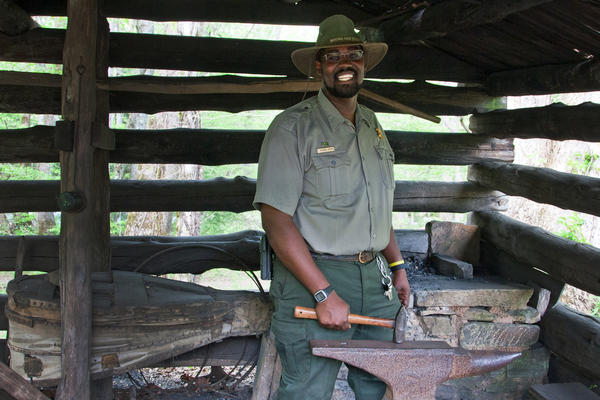 Michael Smith has worked with the National Park Service for the past 5 years. He's the mountain farm museum coordinator at Great Smoky Mountains National Park.
