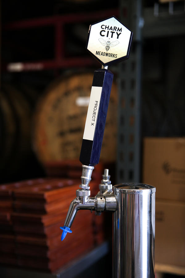 The Project X tap at Charm City Meadworks is where the public can taste the meadmakers' latest experiments.