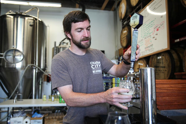 """What will get people to try our mead? If we can make it closer to a beer, that might help,"" says Andrew Geffken, co-owner of Charm City Meadworks in Baltimore, Md."