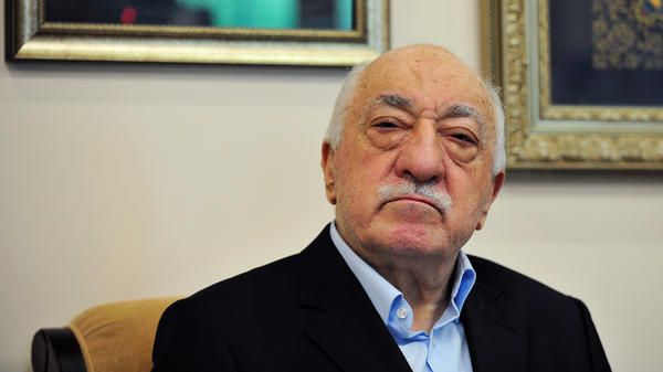 Turkish officials have blamed a failed coup attempt on Muslim cleric Fethullah Gulen, who denies the accusation. Since 1999, he has lived in the U.S. Gulen is shown here on July 17 speaking to reporters at his compound in Saylorsburg, Pa.
