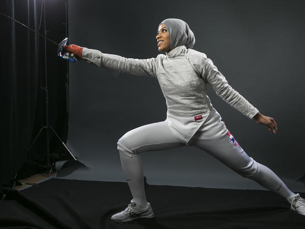 Fencer Ibtihaj Muhammad is set to become the first U.S. athlete to compete in the Olympics while wearing a hijab.