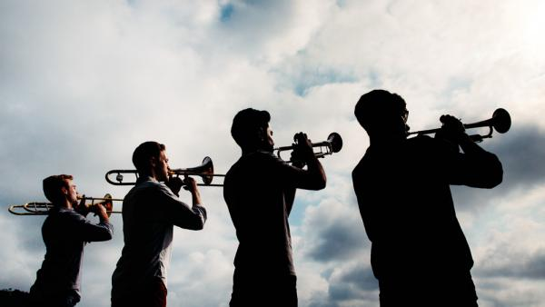 """The members of The Westerlies call themselves """"an accidental brass quartet."""""""