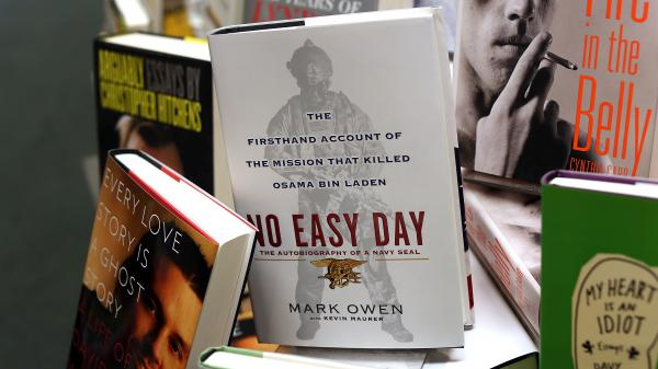 """Former Navy SEAL Matthew Bissonnette has agreed to forfeit """"all of the proceeds"""" he received from <em>No Easy Day,</em> his book about the killing of Osama bin Laden."""