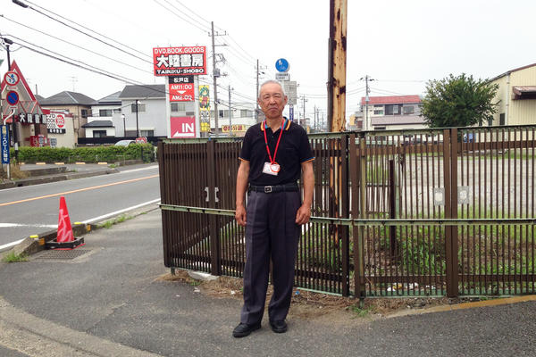 Hiroyuki Yamamoto, a crossing guard in Matsudo, Japan, has been trained in how to recognize and gently approach people who are wandering, or have other signs of dementia, in ways that won't frighten them.