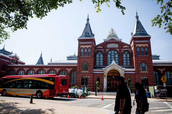 The Smithsonian's Arts and Industries Building first opened to the public in October 1881, though back then it was known as the U.S. National Museum.