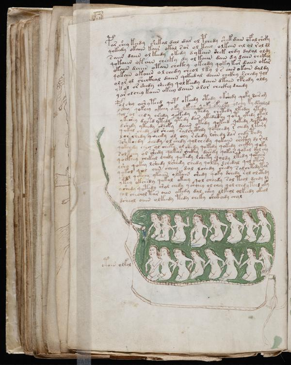 The Jesuit order owned the manuscript for several centuries before it was bought in 1912 by antiquarian bookseller Wilfrid Voynich, whose name is now attached to it.