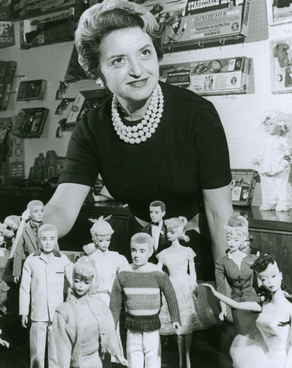Ruth Handler was inspired to create a doll that would appeal to older girls after watching her own daughter, Barbara, dream up grown-up scenarios for her own dolls.