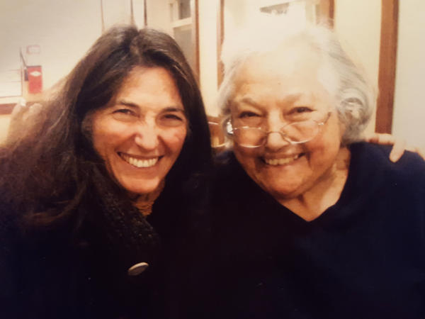 Dana Walrath with her mother, Alice, in 2013.