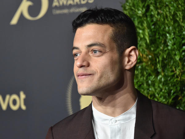 Actor Rami Malek on May 20, 2016 in New York City. Malek plays a hacker on the USA show <em>Mr. Robot </em>and has been nominated for an Emmy.