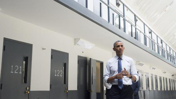 President Obama toured the El Reno Federal Correctional Institution in Oklahoma last year, the first sitting U.S. president to visit a federal prison.