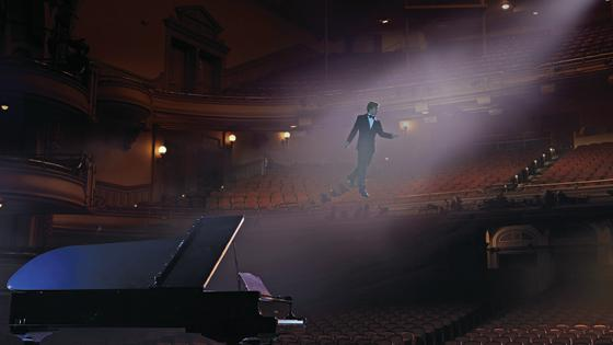 A rendering of the set of David Lang's new opera <em>the loser</em>, which receives its world premiere Sept. 7 at the Brooklyn Academy of Music.
