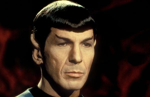 He'll do in a pinch: Leonard Nimoy as Mister Spock in the television series <em>Star Trek</em>.