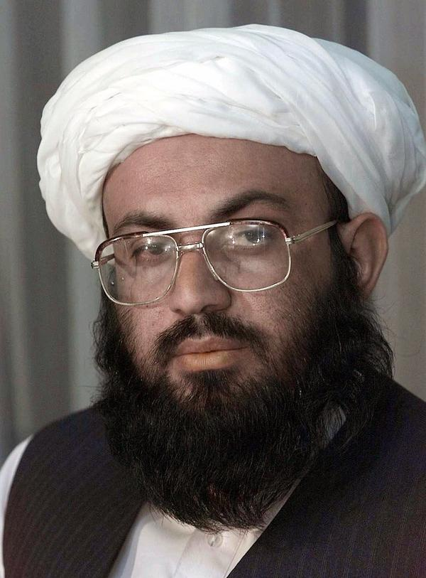 Wakil Ahmad Muttawakil, the Taliban's foreign minister, meets with reporters at the Intercontinental Hotel on Sept. 11, 2001, in Kabul. Speaking shortly after the terrorist attacks in the U.S., he said he was sure al-Qaida leader Osama bin Laden was not involved and that he remained an honored guest in Afghanistan.