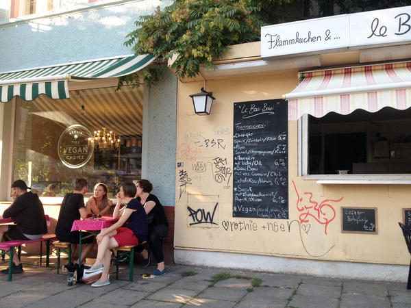 Berlin has become a vegan mecca, with ice cream shops like Kontor Eismanufaktur Berlin (pictured here), restaurants and even butchers catering to a plant-based diet. Now Germany's nutritionists warn that a vegan diet can't provide all a body needs.
