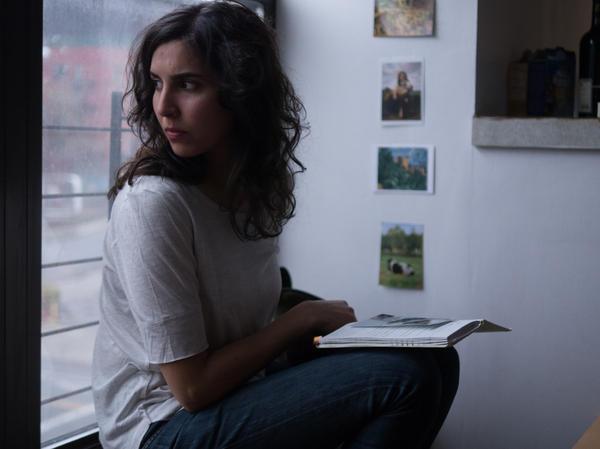 Agustina Munoz as Camila in <em>Hermia and Helena</em>.