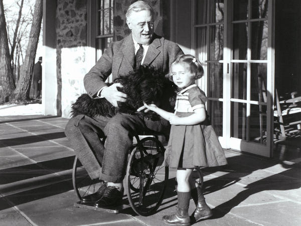 Franklin Delano Roosevelt took great pains to hide the fact that he sometimes used a wheelchair.