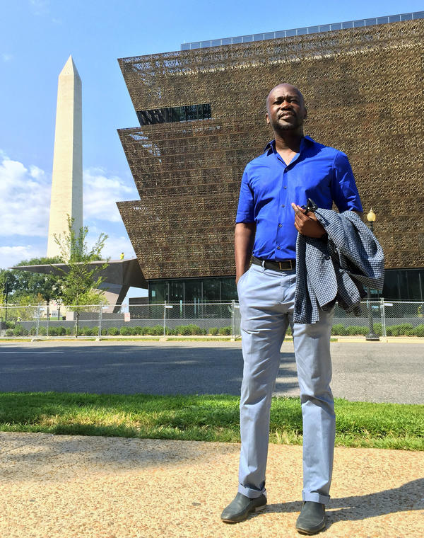 Architect David Adjaye is the lead designer of the project. The Freelon Adjaye Bond/SmithGroup won the competition to design the museum in 2003.