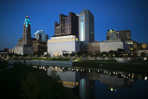 A view of downtown Columbus, Ohio. Last year, the city recorded the highest average hourly earnings gain — 6.2 percent — in the entire country, beating out even San Francisco.