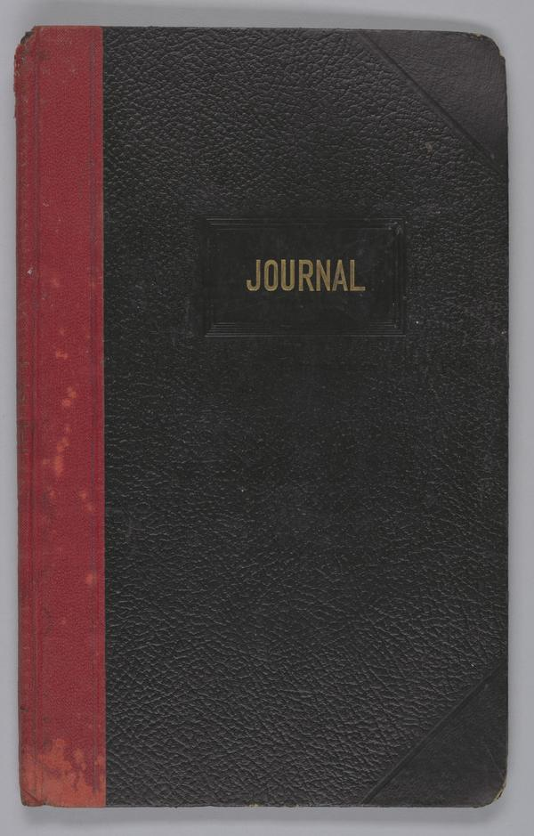 A journal from the Wayman Chapel A.M.E. Church in Lyles Station.