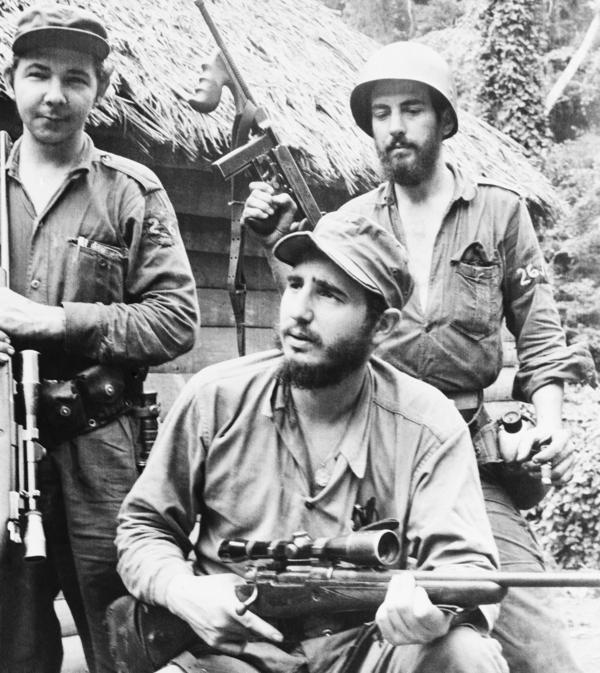Fidel Castro, shown here in 1957, led his rebel movement from the mountains of eastern Cuba. His 1959 revolution ignited leftist insurgencies throughout Latin America that lasted for six decades.