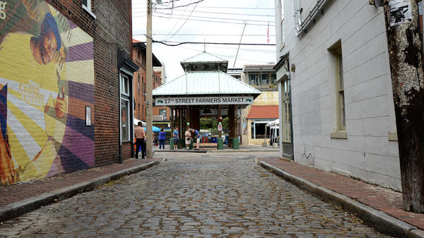 There seem to be ghosts everywhere in Richmond's Shockoe Bottom neighborhood (if you believe the stories). But the city's countless hauntings rarely acknowledge Richmond's history with slavery.