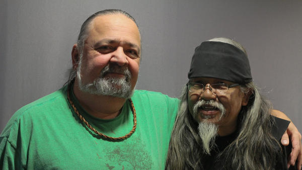 Jay Hollingsworth and Rick Williams, on a visit with StoryCorps.