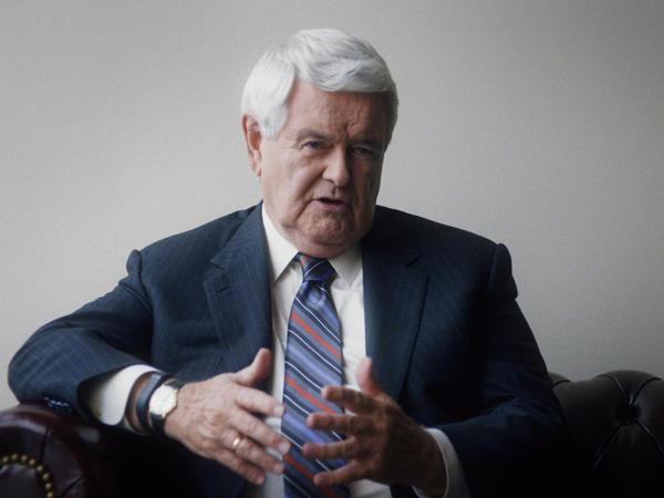 Newt Gingrich in <em>13th.</em>