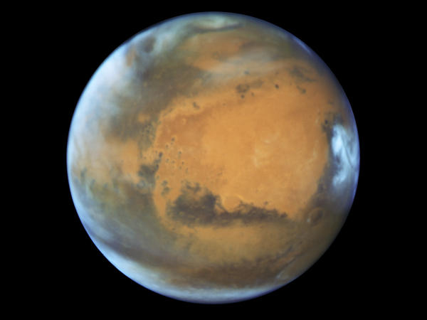 An image of Mars taken on May 12.