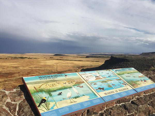 The protected Malheur National Wildlife Refuge is one of the most important migratory bird corridors on the West Coast and also has long been important to the eastern Oregon agricultural economy.