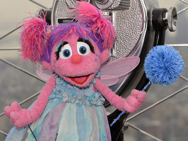 As part of Sesame Workshop's mission to help kids grow smarter, stronger and kinder, <em></em>the company introduced a new character, Julia, who has autism. Above, a different character Abby Cadabby visits the Empire State Building to help light it blue for autism awareness.
