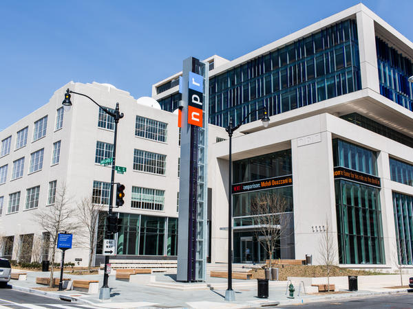 NPR Headquarters in Washington, DC.