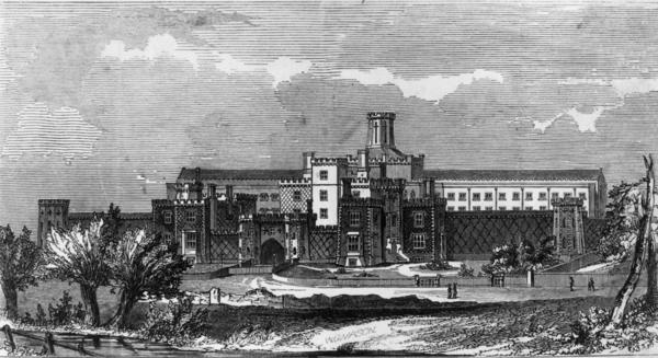 "The Reading Prison was immortalized in Oscar Wilde's 1897 poem <a href=""https://www.poets.org/poetsorg/poem/ballad-reading-gaol"" target=""_blank"">""The Ballad of Reading Gaol.""</a> Built in the mid 1800s, it remained operational until 2013."