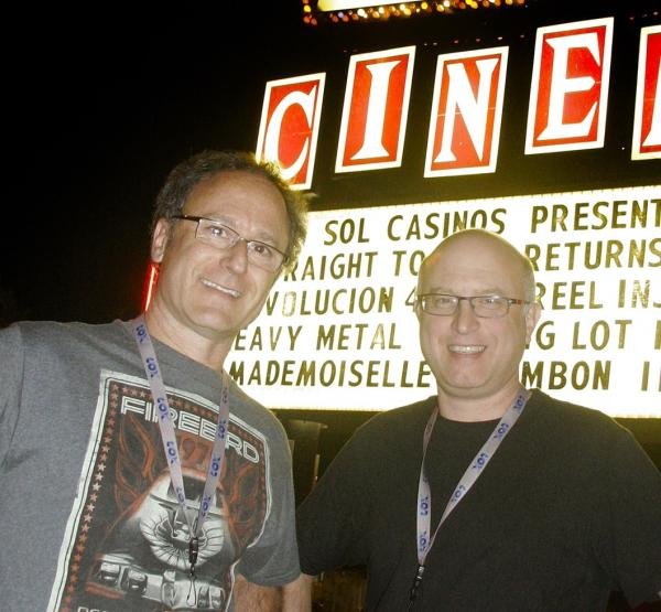 <em></em>Directors John Heyn (left) and Jeff Krulik.