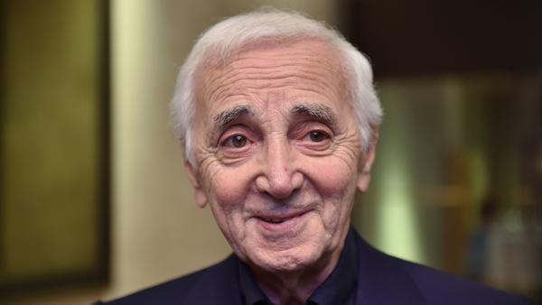 """""""Writing without performing is not interesting,"""" Charles Aznavour says. His U.S. tour ends in Hollywood this week."""