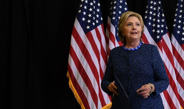 At a news conference Friday night, Hillary Clinton called on the FBI to release more information about its investigation into emails connected to Anthony Weiner and her private email server.