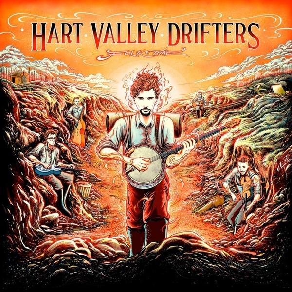 Hart Valley Drifters, <em>Folk Time</em>.