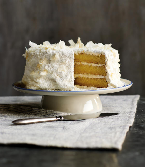 Coconut layer cake is one of the South's best-loved cakes. Author Anne Byrn says enslaved Africans brought with them knowledge of how to use coconuts.