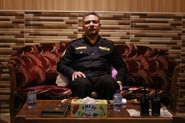 "Maj. Gen. Maan al-Saadi of Iraq's elite counter-terror forces believes Iraqi forces will take control of the area of Mosul they've already entered within a month or two. ""I cannot say when exactly,"" he said. ""But soon."""