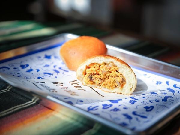 Republic Kolache in Washington, D.C., serves up a brisket-and-egg version of the Czech treat.