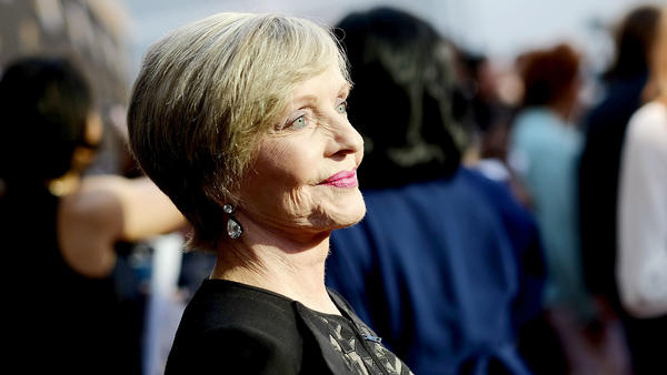 Actress Florence Henderson, pictured in June, has died at 82. She was best known as the mother of the blended family on TV's <em>Brady Bunch</em>.