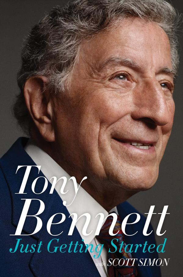 """The cover of """"Just Getting Started,"""" by Tony Bennett. (Courtesy HarperCollins)"""
