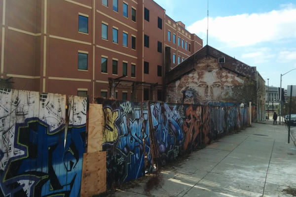 While some artists used the Bell Foundry building illegally, other groups had secured permission for the space.