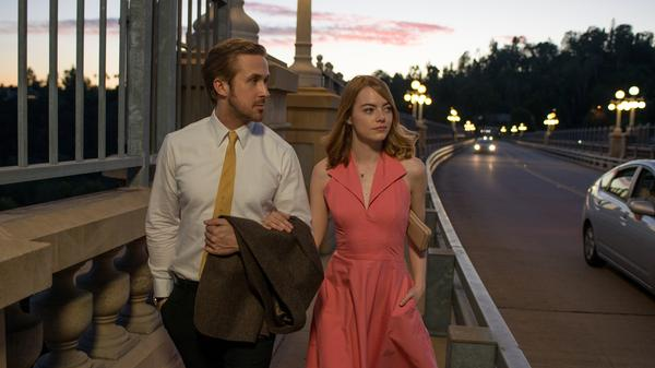 Ryan Gosling and Emma Stone star in Damien Chazelle's new film <em>La La Land</em>, a musical meditation on growing up and reconciling your showbiz dreams with reality.