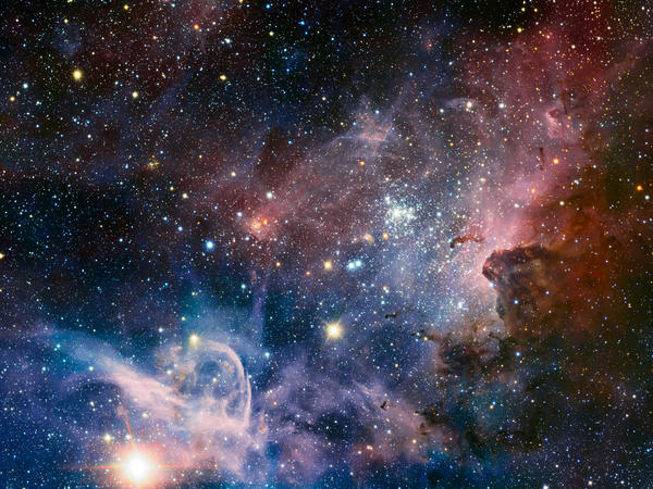 The Carina Nebula is a region of massive star formation in the southern skies.