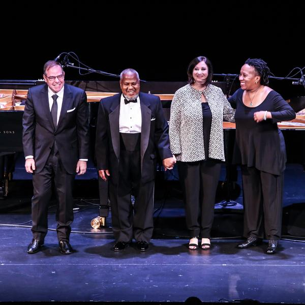 Bill Charlap, Willie Pickens, Renee Rosnes and Bethany Pickens