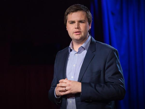 JD Vance speaking at TEDNYC.
